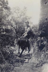 Tracker Perry Taitano at work in Vietnam. (Photo Courtesy of David Herbert. Reproduction is prohibited without  permission from David Herbert)